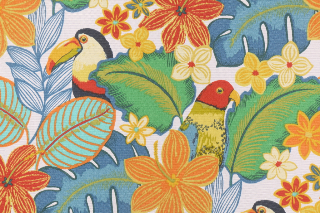 Mill Creek Beak In The Way Printed Poly Outdoor Fabric In