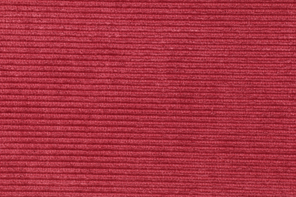 2 7 Yards Beacon Hill Ottoman Velvet Ribbed Linen Cotton Belgian Upholstery Fabric In Berry