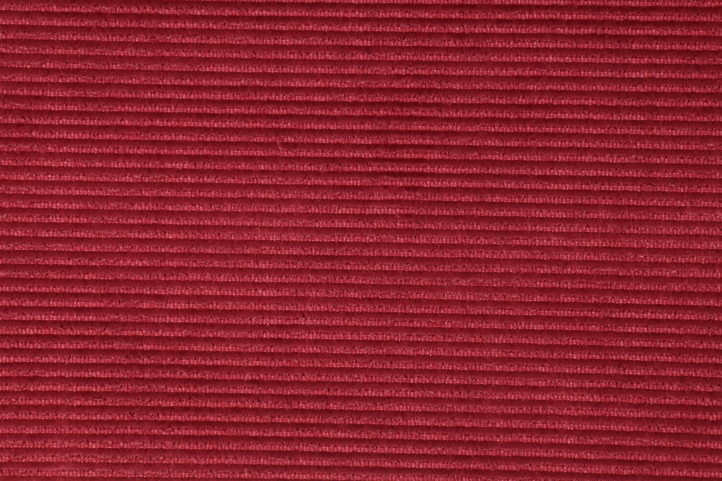 2 3 Yards Beacon Hill Ottoman Velvet Linen Cotton Ribbed Upholstery Fabric In Berry