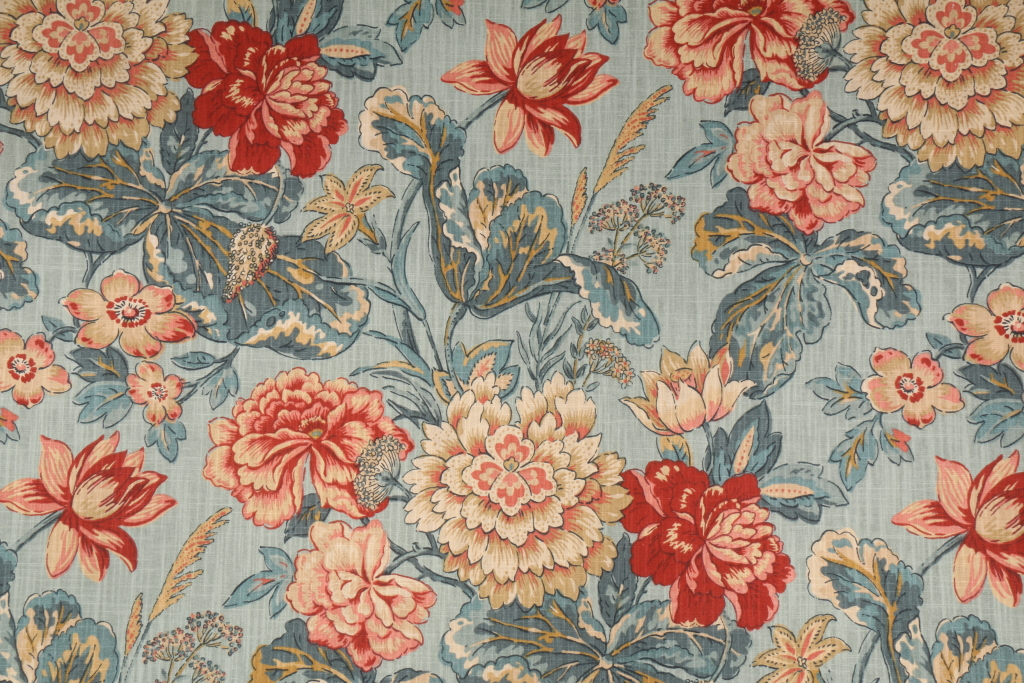 3 8 Yards Waverly Sonnet Sublime Printed Cotton Drapery