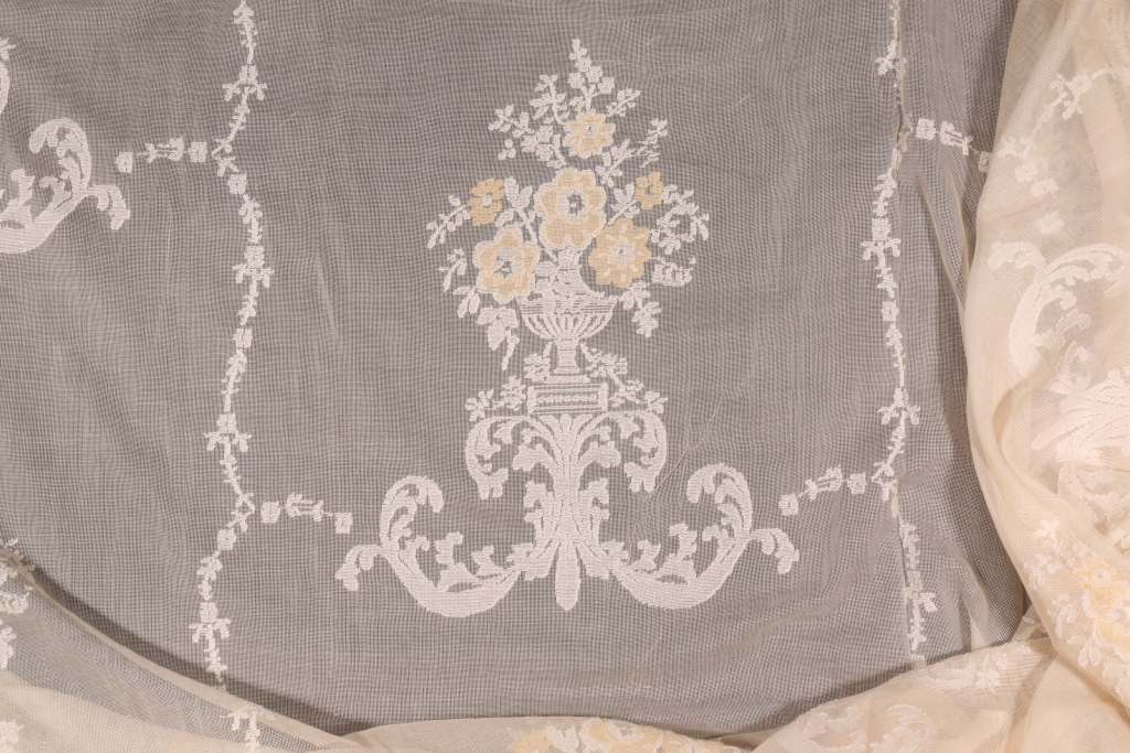 Sheer Lace Curtain Fabric By The Yard Curtain Menzilperde Net