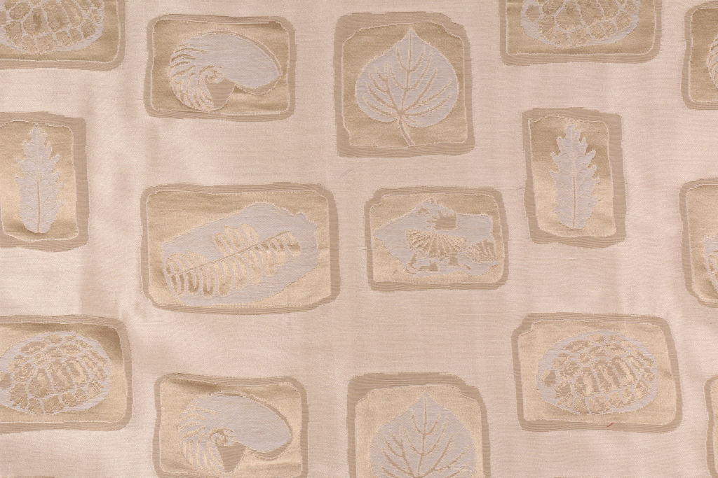 Beacon Hill Silk Fossils Italian Made Damask Upholstery