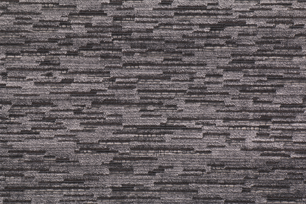 1 8 Yards Slubbed Velvet Upholstery Fabric In Storm Grey Speckle