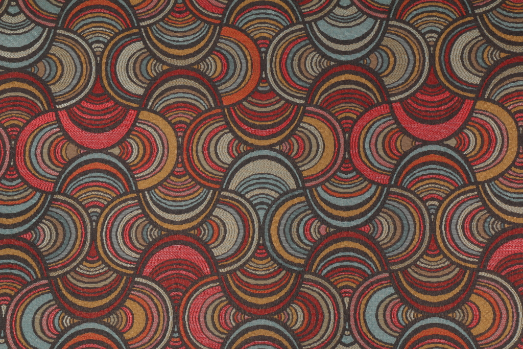 Speedway Tapestry Upholstery Fabric In Vintage